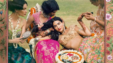 by indian the new indian wedding clich 233 s vogue india wedding