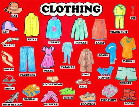 ingles imagenes pdf el blog de marina moral clothes vocabulary ropa en