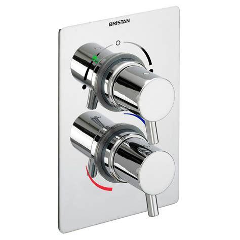 Bristan Shower Diverter Valve by Bristan Prism Concealed Dual Shower Valve With