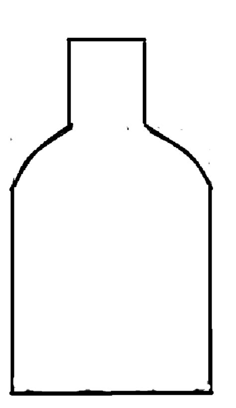 bottle template day 1 of 7 of in plush tutorial hapy