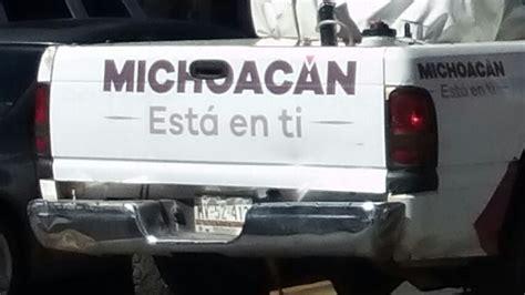 fechas para pagar placas 2016 en morelia reportan otra camioneta del gobierno de michoac 225 n con
