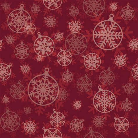christmas pattern background vector christmas balls pattern in dark red vector free download