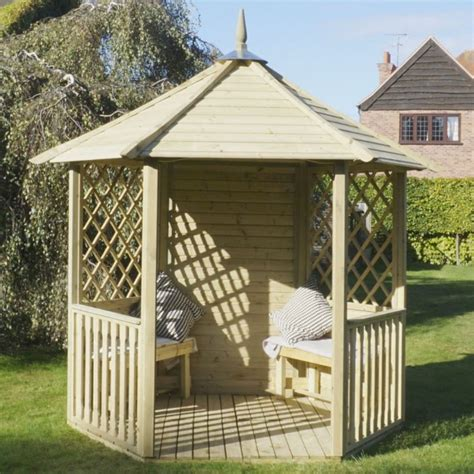 garden wooden gazebo mercia open wooden garden gazebo buy at qd stores