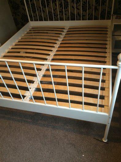 Ikea Leirvik Bed Frame White 160cm X 200cm For Sale In Leirvik Bed Frame For Sale