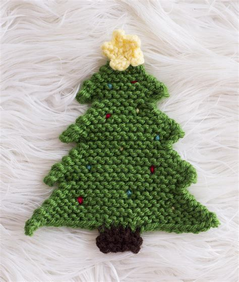 knitting pattern xmas christmas tree pot holder allfreeknitting com