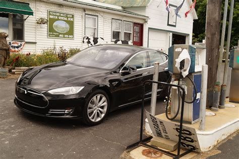 Tesla Gas Stations Tesla S Model S Is 60 Horsepower And 57 Worth 10 000