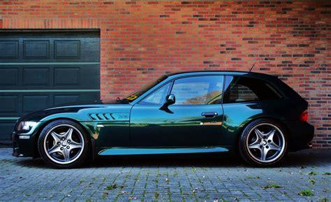 bmw z3 coupe oxford green cars bmw z3