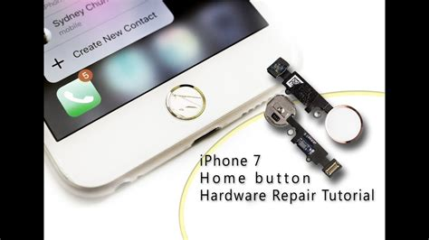 diy iphone  home button touch id hardware repair home