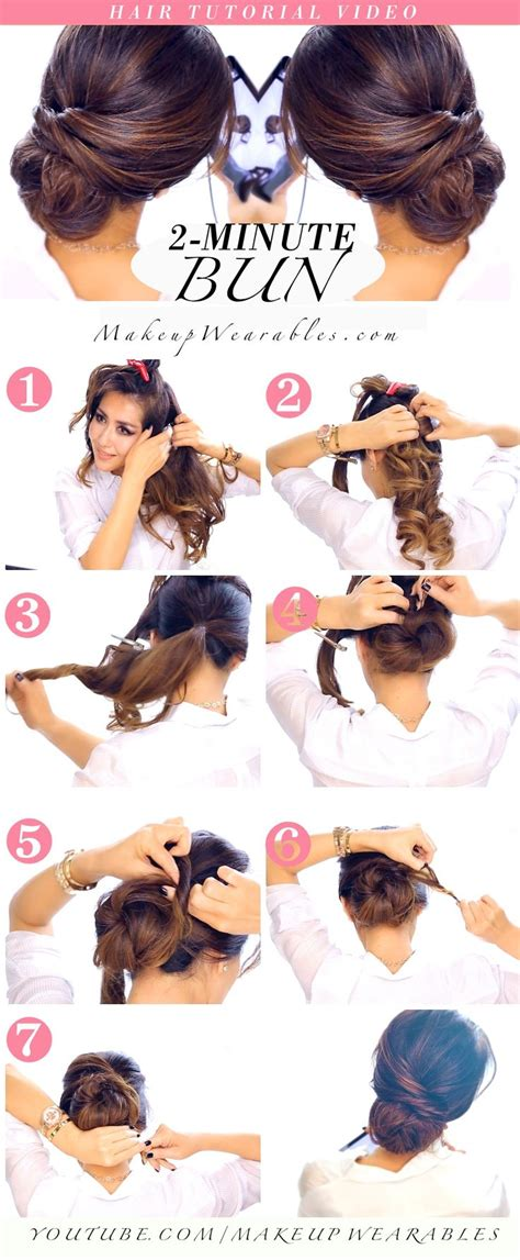 quick and easy romantic hairstyles best 25 quick easy updo ideas on pinterest quick updo