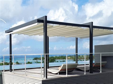 tenda scorrevole per pergola pergole in alluminio per terrazzi con tenda scorrevole o
