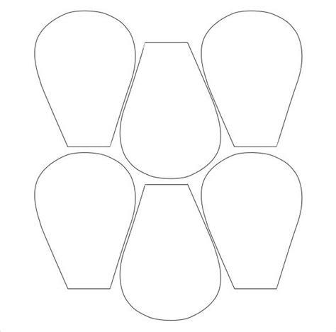 free flower template printable flower petal template 27 free word pdf documents