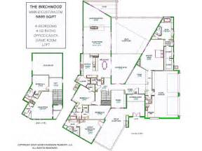 Modern Floorplans Modern House Plans Modern Stock House Plans For Arizona
