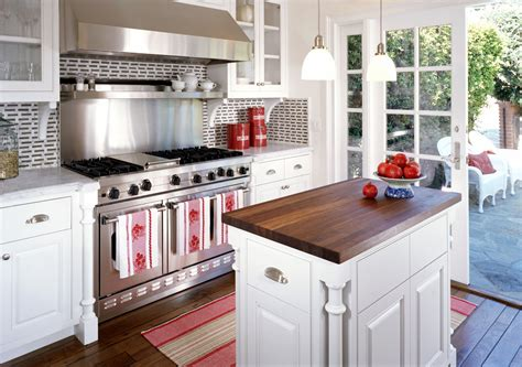 small kitchen with island small cream kitchen island quicua com