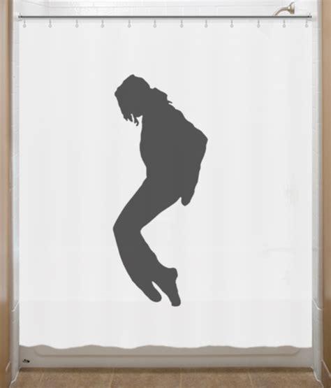 Jackson Shower by Michael Jackson Shower Curtain Toe Stand Moonwalk Home