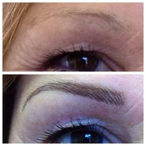 tattoo eyebrows mn ultra natural microblade eyebrow tattoo on oily skin by