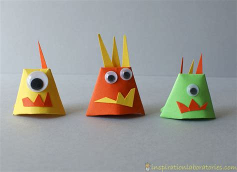 How To Make Paper Monsters - 3d paper monsters inspiration laboratories