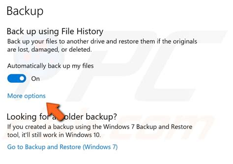 what about windows 10 backup ask leo