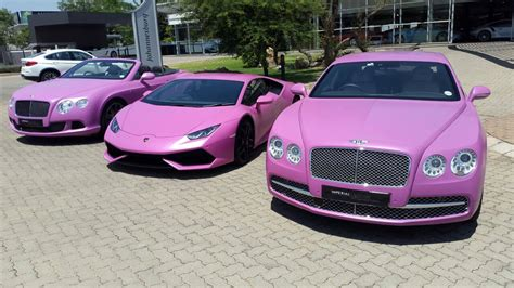 cars lamborghini pink first pink lamborghini huracan fights breast cancer aided