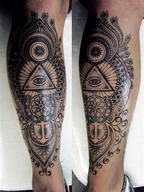 shading tattoos for men best 25 s leg tattoos ideas on leg