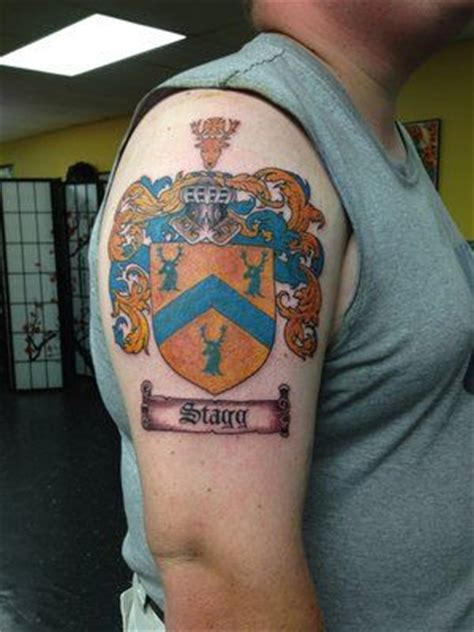 modern family tattoo go deep pics for gt modern family crest tattoo