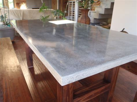 Concrete Dining Room Table by Buffkin Residence Modern Dining Room Charleston By