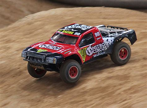 nitro circus rc truck basher announces quot nitro circus quot course 4x4 rc car
