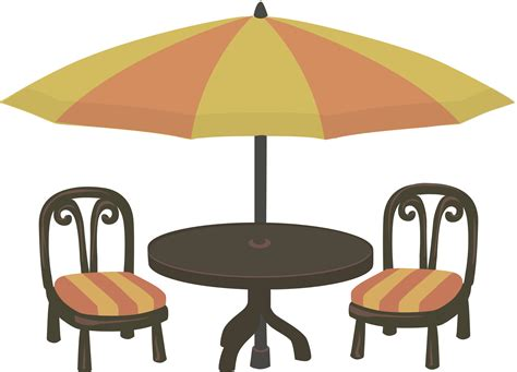 clipart outdoor cafe seating