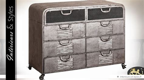 Commode Style Industriel 692 by Commode Style Industriel Commode Ado En Bois Style
