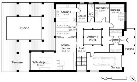 Plans A plan maison romaine ooreka