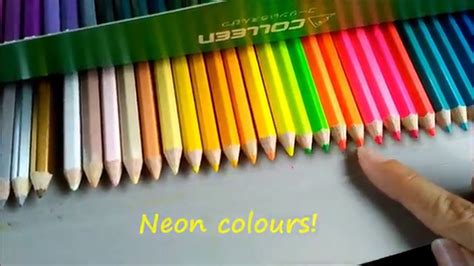 cra z 72 colored pencils colleen coloured pencils demo review