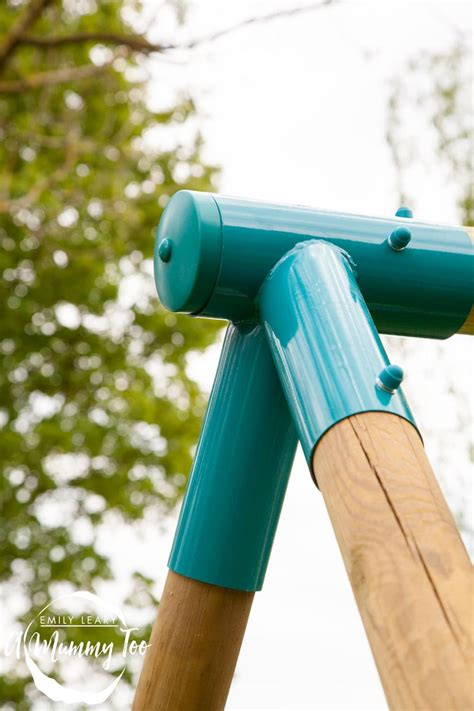 make your own swing set turn your garden in an adventure playground with a plum