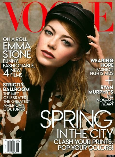 emma stone vogue cover emma stone is vogue s may cover star and still doesn t