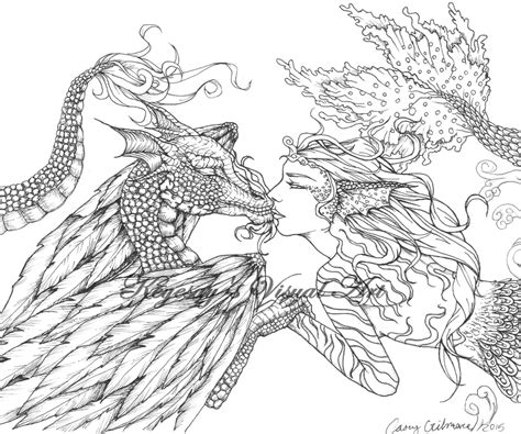 coloring pages for adults mythical adult fantasy colouring pictures google search marie s