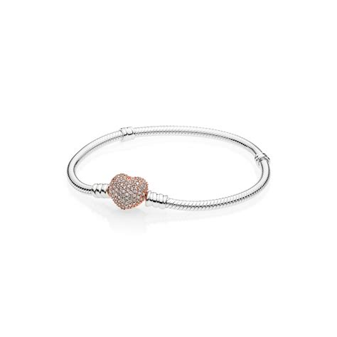 moments silver bracelet pandora pav 233 pandora
