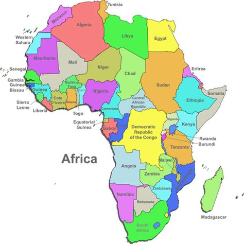 map i africa shipping to africa