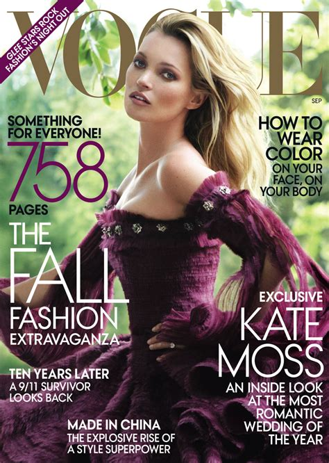 Cbell Kate Moss On The Cover Of Vogue February 2008 by Kate Moss Covers Vogue Us September 2011