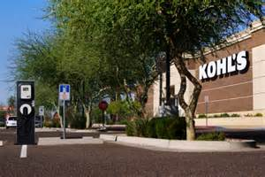 Kohl S Electric Vehicle Charging Stations Kohl S Department Stores Expands Electric Vehicle Charging