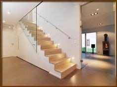 Fliese Anthrazit 60x60 by Kombination Aus Moderner Holztreppe Mit Glaswand Und