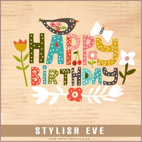 design a happy birthday card stylish and cute happy birthday cards 03 stylish eve