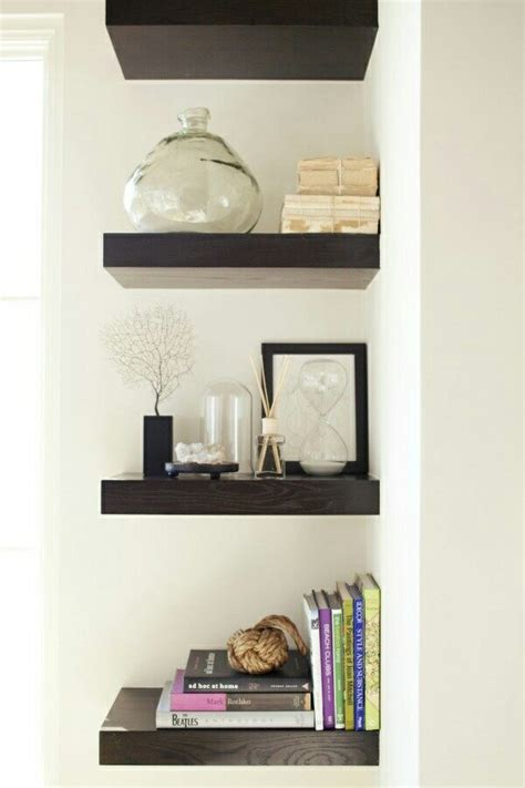 decorative shelves enhance any room