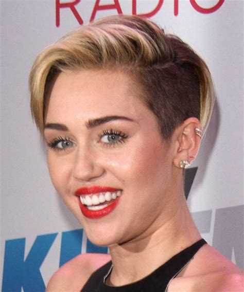 the name of mileys haircut miley cyrus short spiked punk miley cyrus short hairstyle for 2014 2015 haircut