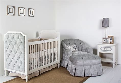 Beverly Crib With Tufted Panels Newport Cottages Newport Cottages Cribs