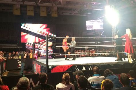 wwe house show wwe greenville house show experience and revelations cageside seats
