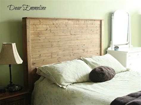 bloombety ideas diy bed frame with headboard wood how to