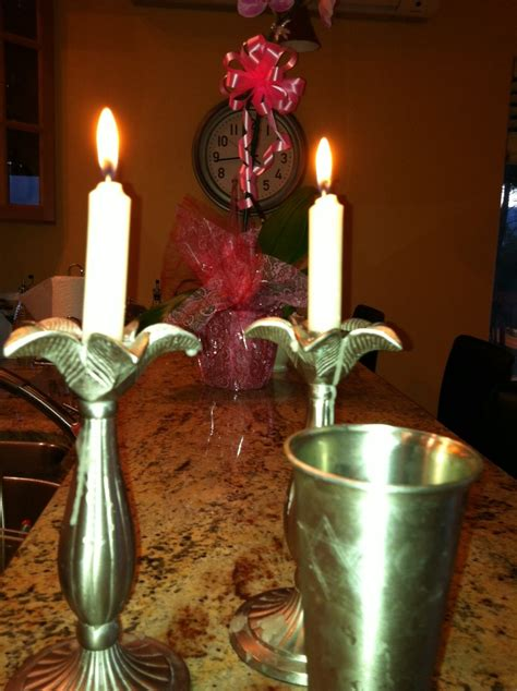 shabbat candles it s aloha friday and shabbat shalom being in hawaii