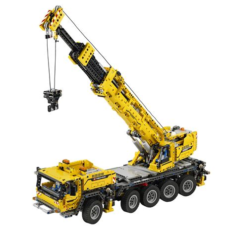 crane mobile technicbricks tbs techreview 26 42009 mobile crane mk ii