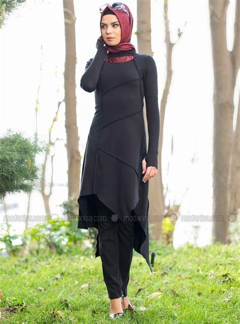 Ceria Tunik 10 inspirasi paduan tunik kemeja panjang dan legging