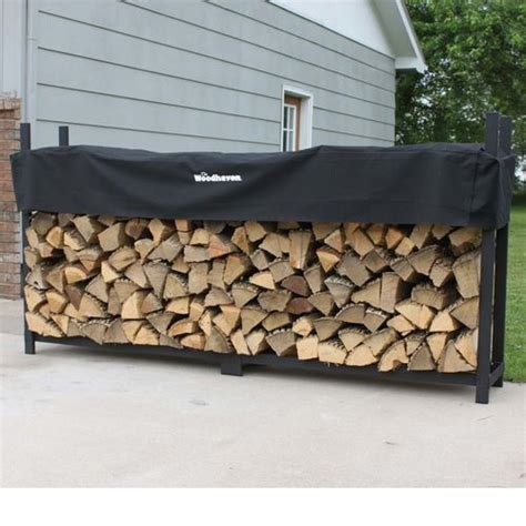 Cover For Wood Rack by 1 2 Cord Woodhaven Firewood Racks At Brookstone Buy Now
