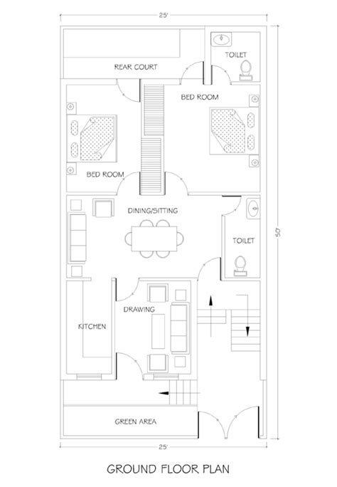 how to plan a house layout 25x50 house plan house plans
