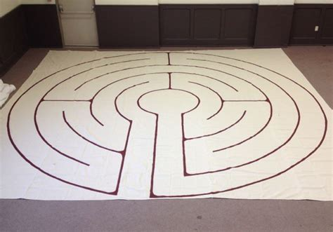 how to make an inexpensive portable labyrinth heather plett